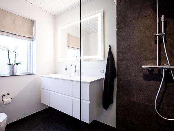 Etablering af nyt badeværelse